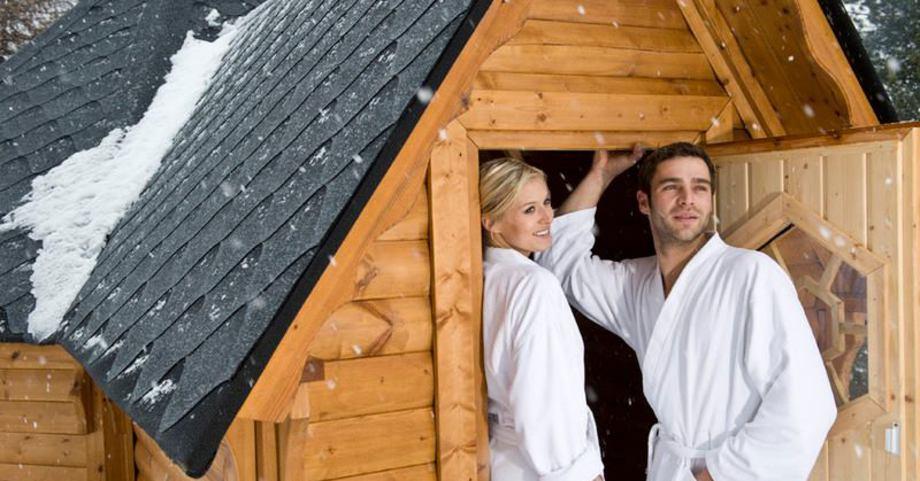 Sauna-Kombikota: